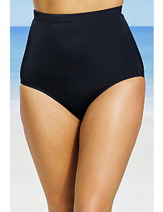 Black High Waist Brief by Swim Sexy