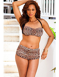 Leopard Retro Bikini by Swim & Sun