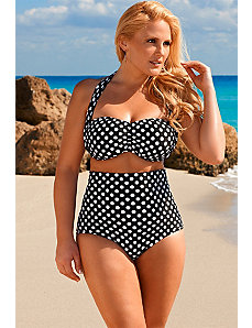 Polka Dot Halter Bikini by Swim Sexy