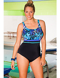 Chlorine Resistant Botanic Swimsuit by Aquabelle