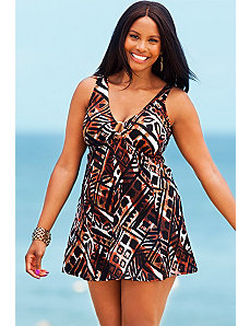 Cheyenne Ring Front Swimdress by Swim Sexy