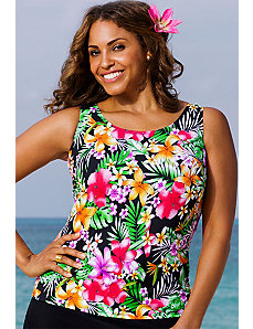 Moorea Tankini Top by Beach Belle