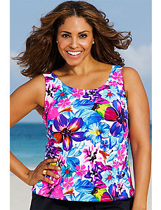 Bora Bora Tankini Top by Beach Belle