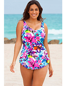 Bora Bora Sarong Front Swimsuit by Beach Belle