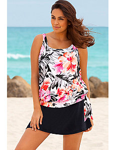 Samoa Blouson Skirtini by Beach Belle