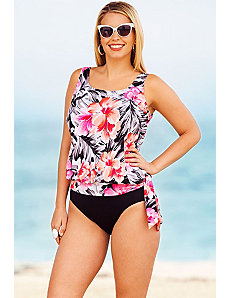 Samoa Blouson Tankini by Beach Belle
