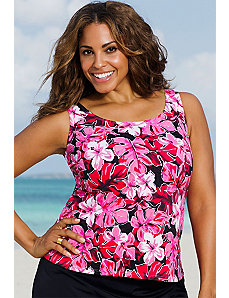 Tahitian Sunrise Tankini Top by Beach Belle