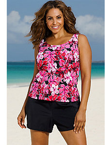 Tahitian Sunrise Loose Shortini by Beach Belle
