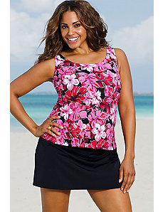 Tahitian Sunrise Skirtini by Beach Belle