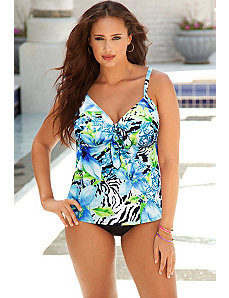 Sanibel Tie Front Tankini by Swim Sexy