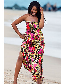 Cameroon Smocked Maxi Dress by s4a