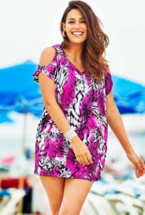 Caicos Slit Shoulder Tunic