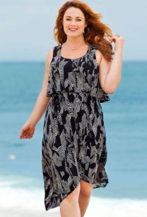 Bermuda Flounce Dress