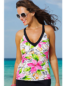 Athena V-Neck Sport Tankini Top by Shore Club