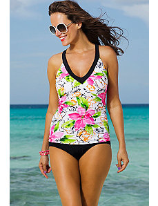 Athena V-Neck Sport Tankini by Shore Club