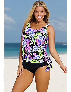 Brisbane Blouson Tankini by Beach Belle