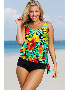 Botany Bay Blouson Tankini by Beach Belle