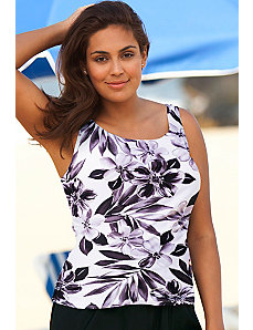Lunar Tankini Top by Beach Belle