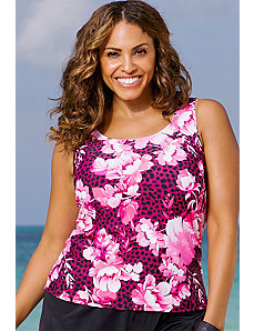 Irvine Tankini Top by Beach Belle