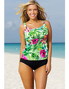 Hermosa Flared Tankini by Beach Belle