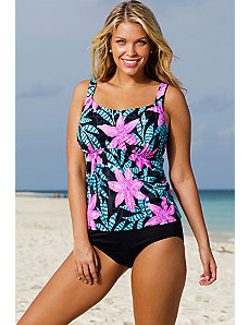 Del Mar Flared Tankini by Beach Belle
