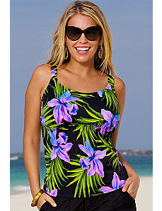 Palm Springs Tankini Top by Beach Belle