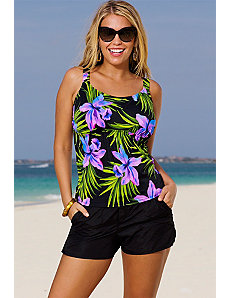 Palm Springs Cargo Shortini by Beach Belle