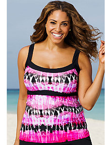 Coachella Empire Tankini Top by Beach Belle