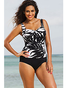 Phoenix Twist Front Tankini by Shore Club