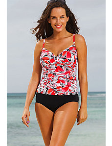 Tempe Tab Front Tankini by Shore Club
