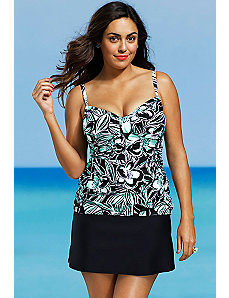 Trinity Beach Tab Slit Skirtini by Shore Club