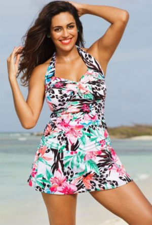 Coral Bay Halter Swimdress