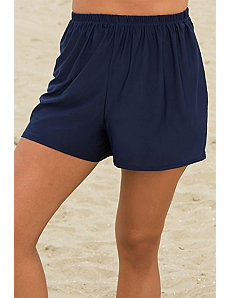 Navy Loose Short by s4a