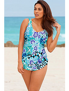 Bondi Sarong Front Swimsuit by Beach Belle