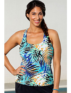 Kiwi Racerback Top by Aquabelle