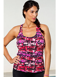 Melrose Racerback Top by Aquabelle