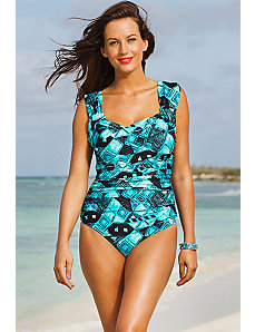 Mirage Crossover Swimsuit by Shore Club