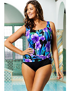 Firebird Sash Tank Swimsuit by Longitude