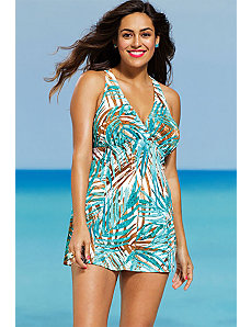 Belize H Back Swimdress by Shore Club