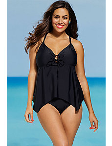Eclipse Hankerchief Tankini by Shore Club
