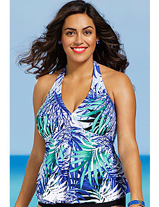 Maile Tankini Top by Shore Club
