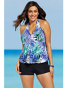 Maile Halter Boy Shortini by Shore Club