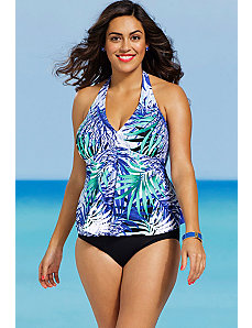 Maile Halter Tankini by Shore Club