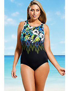 Santa Fe High Neck One Piece by Beach Belle