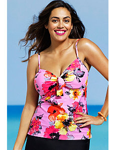 Blossom Underwire Tankini Top by Shore Club