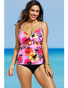 Blossom Underwire Tankini by Shore Club