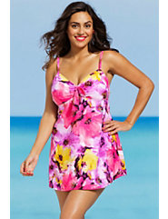 Peony Underwire Two Piece Swimdress