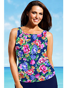 In Bloom Tankini Top by Beach Belle