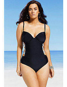Midnight Underwire Swimsuit by Swim Sexy