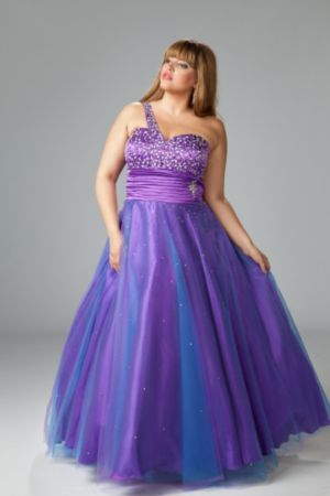 Dazzling Prom Gown